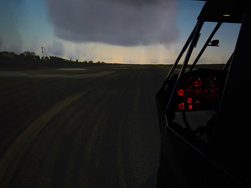 mi8 heli simulator night